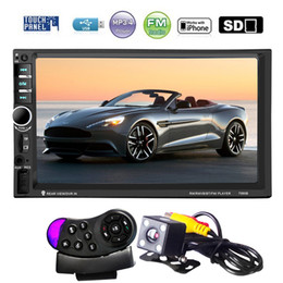 Discount mp5 player inches - Video Players Car 4,MP5 7 Inch HD Touch Screen 2 Din Bluetooth Auto Car Audio Stereo FM MP5 Player Support AUX