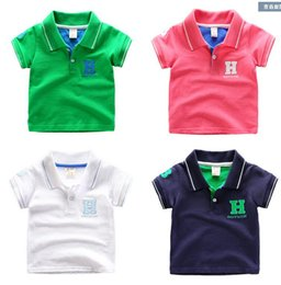$enCountryForm.capitalKeyWord Australia - Children Short Sleeve Boy Polo Shirt Cotton Shirt Children 'S Clothing 2017 New Summer Baby Half Sleeve