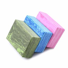 China Camouflage Yoga Block Pilates Sports Exercise Gym EVA Foam Workout Brick Stretching Aid Fitness Body Shaping Training Equipment suppliers