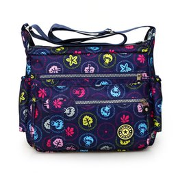 Cloth hobo bags online shopping - New women s fashion shoulder bag Washed cloth crossbody bag Rural style floral leisure women travel cheap package