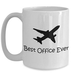 Best Christmas Gifts For Men Australia - Funny helicopter pilot coffee mugs, tea cup Perfect Gift For Birthday, Christmas Event Present Idea for men, women - Best Office Ever