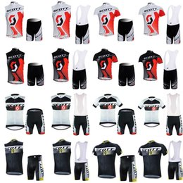 Fiery sales SCOTT Men Cycling Jersey Bike Short Sleeve Mountaion MTB  sleeveless Breathable bib shorts Cycle clothing Ropa Ciclismo F60605 a92808a14