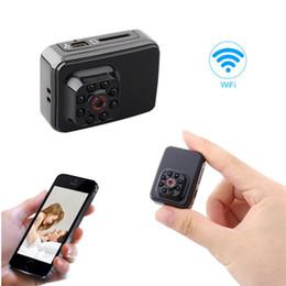 mini nanny cams 2019 - 1080P HD Mini WiFi P2P Camera Small Camera Portable Sports Camera with IR Night Vision Digital Video Recorder Motion Det
