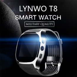 Smart Watch Android Sync Australia - Bluetooth Smart Watches Support SIM &TF Card With Camera GSM cellphone Sync Call Message Men Women Smartwatch Watch For Android smartphone