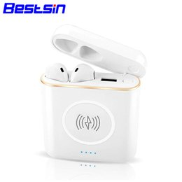 China Bestsin XT6 TWS 3 in 1 Bluetooth Wireless Headset Earphone + Wireless Charger + Power Bank For Iphone XSMAX cheap mixed banking suppliers