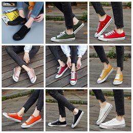 $enCountryForm.capitalKeyWord Australia - 17 colors Kids Star Canvas Shoes Fashion High Low Children Shoes Boys and Girls Sports Chuck Classic Maternity Canvas Shoe GGA327 6pairs