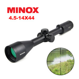 Focus gear online shopping - Minox x44 SF Hunting Rifle Scope Side Parallax Focus Tactical Riflescope Sniper Gear With Lens Cover