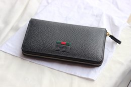 $enCountryForm.capitalKeyWord Canada - best quality long zipper wallet with box women brand Genuine Leather square wallet leather purse women wallet 435298