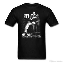Venta al por mayor de Mgla Oefening En Futulity verdere dowm de nest camiseta mannen vrouwen impresión de polen Zwart metalen band camiseta personalizada BIG SIZE S-XXXL