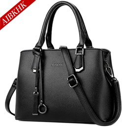 $enCountryForm.capitalKeyWord Canada - Luxury Genuine Leather Handbags Shoulder Crossbody Bags for Women 2018 Fashion Tote Brand Designer Hand Bag Ladies Messenger Bag