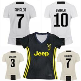 a2a5e16bd 2018 2019 Juventus women RONALDO Soccer Jersey 18 19 DYBALA PJANIC KHEDIRA  D. COSTA BERNARDESCHI home away 3rd female football shirts S-XL