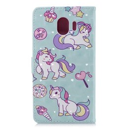 $enCountryForm.capitalKeyWord UK - For Sony L2 For Huawei P20 Lite Enjoy 7S Galaxy (J4 J6 A6 Plus )2018 3D Unicorn Flower Lace Leather Wallet Case Dreamcatcher Card Flip Cover
