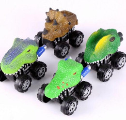 Discount lead free toys Smart Children Toy Triangle dragon fear leading inertia car Inertia car Mini Toy for Boys Free Shopping
