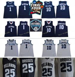 39819b3b38e VillanoVa jersey online shopping - NCAA Basketball Final Four Villanova  Wildcats Jersey Jalen Brunson Donte DiVincenzo