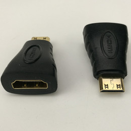 $enCountryForm.capitalKeyWord NZ - New HDMI Female To Micro HDMI Type D Male Adapter F M Converter Connector HD TV Camera Free Shipping 500pcs lot