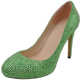 9ee75e5db53 New bridal crystal fashion wedding shoes
