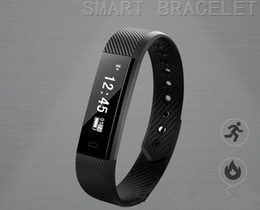 Bracelet Intelligent NZ - Hot sale ID 115 waterproof intelligent hand ring manufacturer direct selling motion detection meter walking bracelet