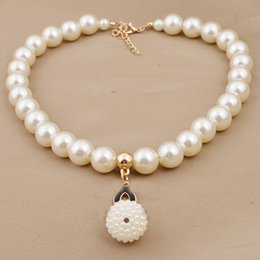 $enCountryForm.capitalKeyWord NZ - Double C Luxury Jewelry Pearl Chain Necklace Rose Gold Plated Letter Pendant Necklace Sweater Chain Jewelry VICHOK