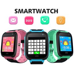 Gift boxes for bracelet watches online shopping - Q9 Kids Smart Watch Wristband Baby Bracelet with Remote Camera LBS Watches with SIM Card Slot SOS Calling as Gift for Chirdren in Retail Box