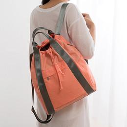 $enCountryForm.capitalKeyWord UK - 2018 Travel Backpack Drawstring Portable Travel Large Duffel Bag Capacity Cationic Waterproof Travel Bag Light Weight Bag