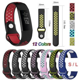 Smart Fitness Watches Australia - Replacement Watch Strap For Fitbit Charge 3 Bands Sport Soft Silicone For Fitbit Charge 3 Smart Fitness Watch