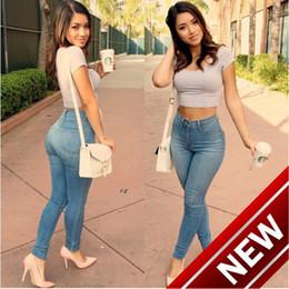 2018 Sexy Slender Package Buttocks Traje-vestido hombres plata Jeans  camisas Blue Code Bound Feet Lápiz mujeres harén tirantes adelgazar a5070db68f1