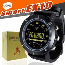 $enCountryForm.capitalKeyWord NZ - 2018 EX19 smart watch 5ATM swim waterproof Call SMS Alert Pedometer stopwatch fitness tracker Smartwatch Wristwatch for IOS Android iphone