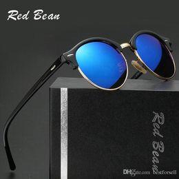 d9e0a2c49101 Cool Cat Glasses NZ - New Metal Round Sunglasses Cool Designer Eyewear Gold  Glass Lens Men