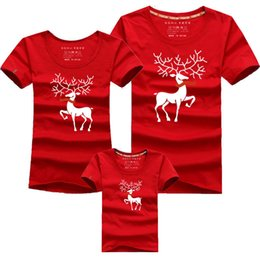 Father Daughter Matching Clothes Australia - Christmas Mom Daughter Clothes Father Son Matching Clothing Family Look Cartoon Milu Deer Family Clothing Dad Mom Boy T-Shirt