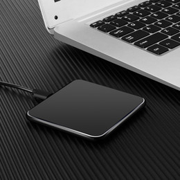 Wholesale Qi Wireless Charger For Iphone X Samsung Magnetic Induction Mobile Phone Fast Charging Round Pad Wireless Charger Retail box