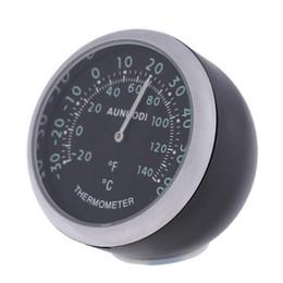 Auto Car Interior Decoration UK - Car Interior Decoration Exquisite Quartz Clock Mechanical Thermometer Hygrometer Auto Accessories for Car Home Use