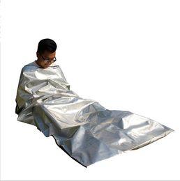 Buy Cheap Outdoor Emergency Sleeping Bag Radiation Insulation Insulation And Life Saving Sleeping Bag Pe Orange At9040