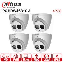 $enCountryForm.capitalKeyWord NZ - DaHua 6MP IP Camera IPC-HDW4631C-A upgrade from IPC-HDW4431C-A POE Network Mini Dome Cam Built-in MIC CCTV Camera Metal 4pcs lot