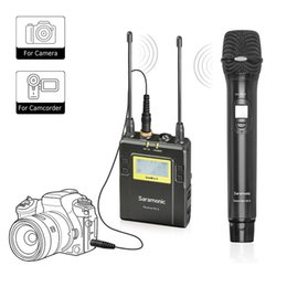 $enCountryForm.capitalKeyWord Canada - Wireless Handheld Microphone for DSLR Camera,Saramonic UWMIC9 UHF Interview Microphone System with Handheld Mic and Receiver