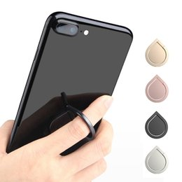 Handsets for ipHone online shopping - Top Quality Water Drop Finger Ring Holder Universal Mobile Phone Ring Magnetic Stander With Retail Package For iPhone Sumsung All Handset