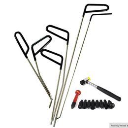 Rods de PDR Herramientas de gancho Sin pintura Denta de reparación de coches Dent Remoción PDR Kit Herramienta Hail Hammer en venta