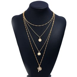 Girls stylish chain online shopping - Fashion Stylish Trendy Layered Pendant Necklace Charm Choker Necklaces Statement Jewelry for Girls Women Ladies