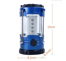 Discount camping lantern bulbs - 4 PCS Lot Super Bright Lightweight 30 LED Camping Lantern Outdoor Portable Lights Water Resistant Camping Lighting Lamp
