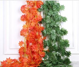 flower ceiling decorations 2019 - 2018 new simulation of Pteris green leaves Home Furnishing wedding ceiling decoration flowers rattan vines