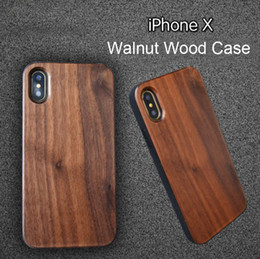 Bamboo Cell Phone Case Iphone Australia - Bamboo Wood Case Custom For iphone 6 6s 7 8 5s X 10 Mobile Cell phone Cover Wooden TPU Anti-knock Back Shell For Samsung Galaxy S9 S8 S7 S6