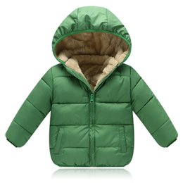 Discount winter parkas for kids - BibiCola 2018 Children Winter Down Jackets For Boys Outerwear Kids Outerwear Jackets For Girls Warm Hooded Coat Clothing