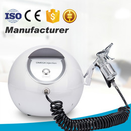 skin rejuvenation portable machine NZ - New Portable Oxygen Machine Facial Cleansing Water Jet For Skin Rejuvenation Nutrition Absorption Strong Power For Home Use Or Salon