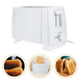 Discount bread machines - Portable Household 2 Slice Plastic Electric Bread Toaster Breakfast Maker Mini Household Breakfast Baking Bread Machine