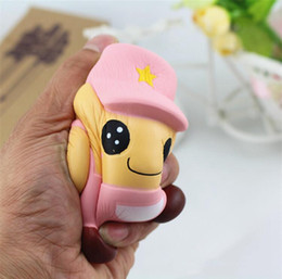 $enCountryForm.capitalKeyWord NZ - Pink Blue Jumbo Squishy Kawaii Soldier Doll Toys Slow Rising Cute Lovely Doll Squishies Fun Toys Stress Release Kids Gifts