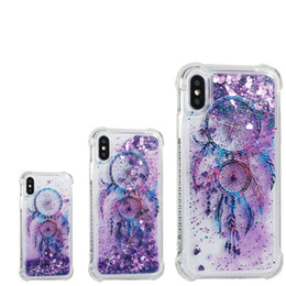 $enCountryForm.capitalKeyWord Canada - Campanula Design Glitter Star Quicksand Liquid Phone Cases For iPhone X 8 7 6 6s plus Samsung s8 note 8