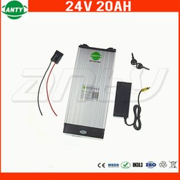 24v Bicycle NZ - 500w 24v 20Ah eBike Battery Built in 30A BMS Lithium Bicycle Battery 24v with 2A Charger Electric Bike Battery 24v Free Shipping