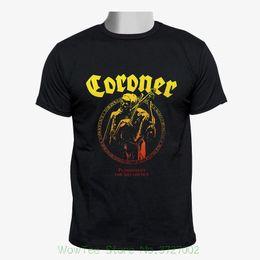 $enCountryForm.capitalKeyWord UK - Coroner - Punishment For Decadence Cover Men Black Tshirt Size S - 2xl Cheap Crew Neck Men's Top Tee