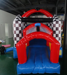 $enCountryForm.capitalKeyWord NZ - customized PVC inflatable bouncy slide for sale indoor playground inflatable bounce for family use