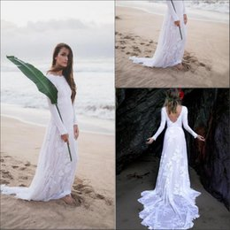 Simple Outdoor Wedding Gowns