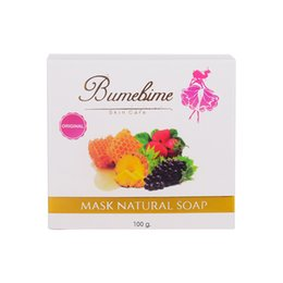 $enCountryForm.capitalKeyWord Canada - Bumebime Handmade Soaps with Fruit Essential Natural Mask Bright Oil Soap Body Skin Smooth Soap 100g